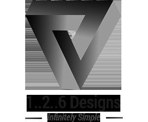 Logo 1..2..6 Designs