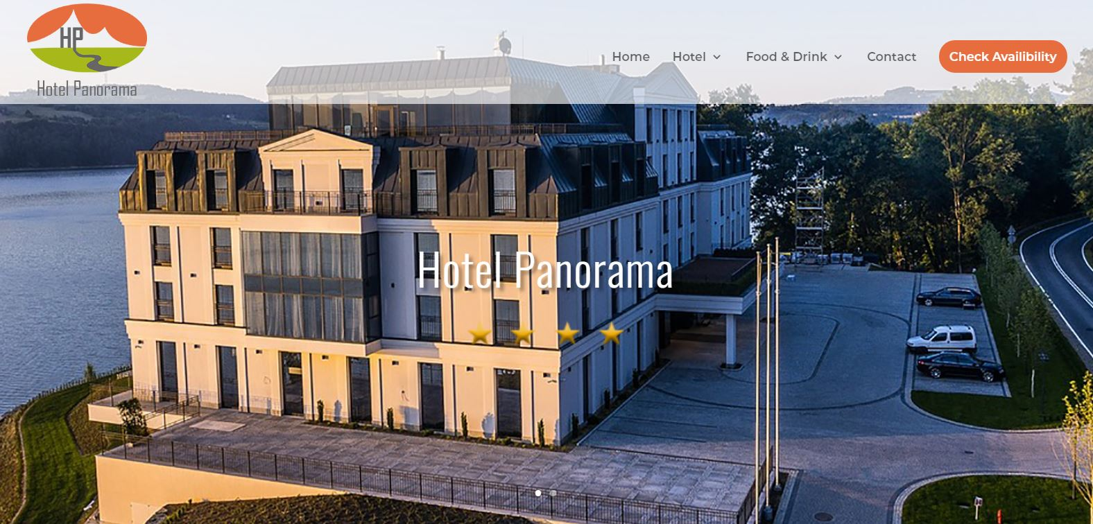Panorama web design example 5